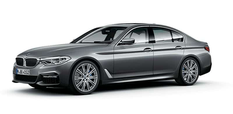 BMW Serie 5 gris oscuro